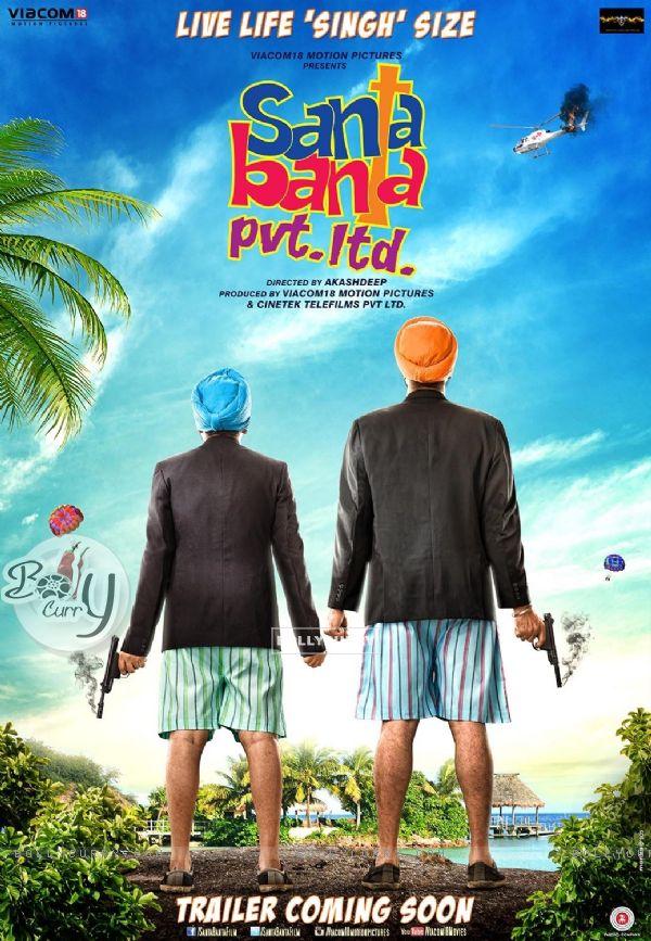 First Poster of Santa Banta Pvt. Ltd.