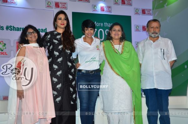 Tabu, Supriya Pathak and Pankaj Kapoor at Ariel Women's Day Event