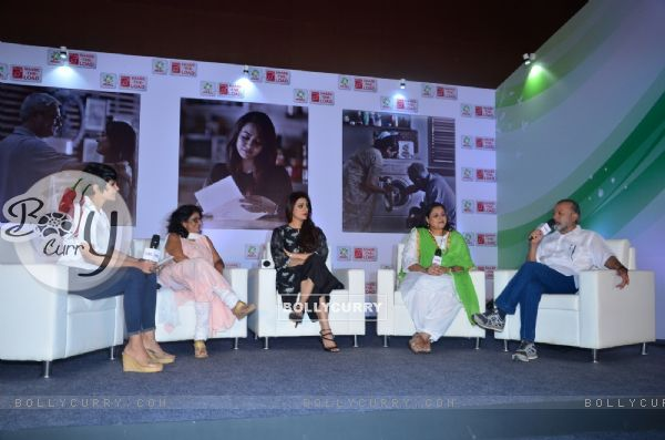 Tabu, Supriya Pathak and Pankaj Kapoor at Ariel Women's Day Event