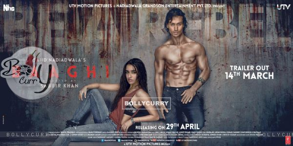 Poster of the film Baaghi