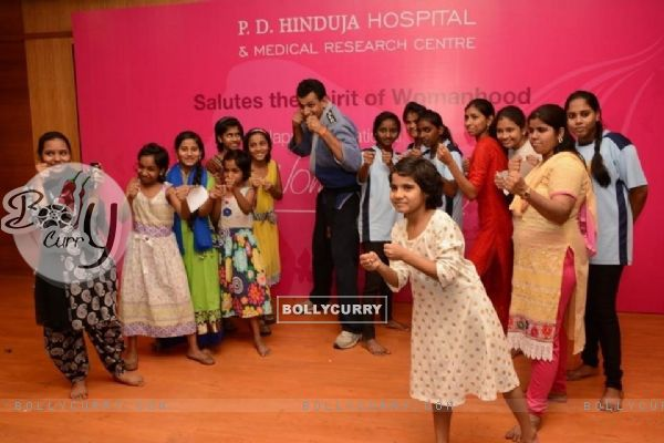 Raveena Tandon and Moushumi Chatterjee Celebrate Women's Day with P.D Hinduja Hospital