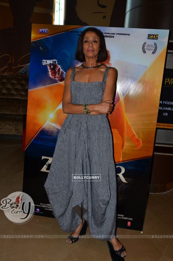 Achint Kaur at Launch Of Film Zorawar
