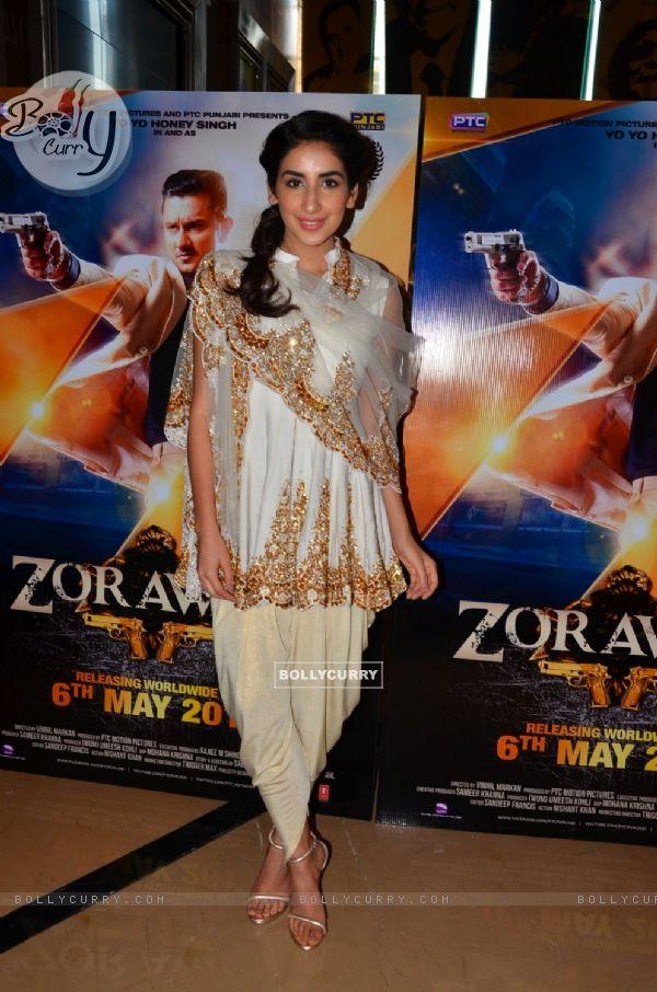 Parul Gulati at the Launch Of Film Zorawar