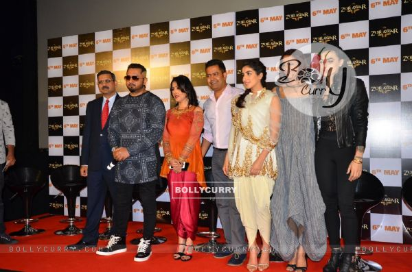 Celebs at the Launch Of Film Zorawar