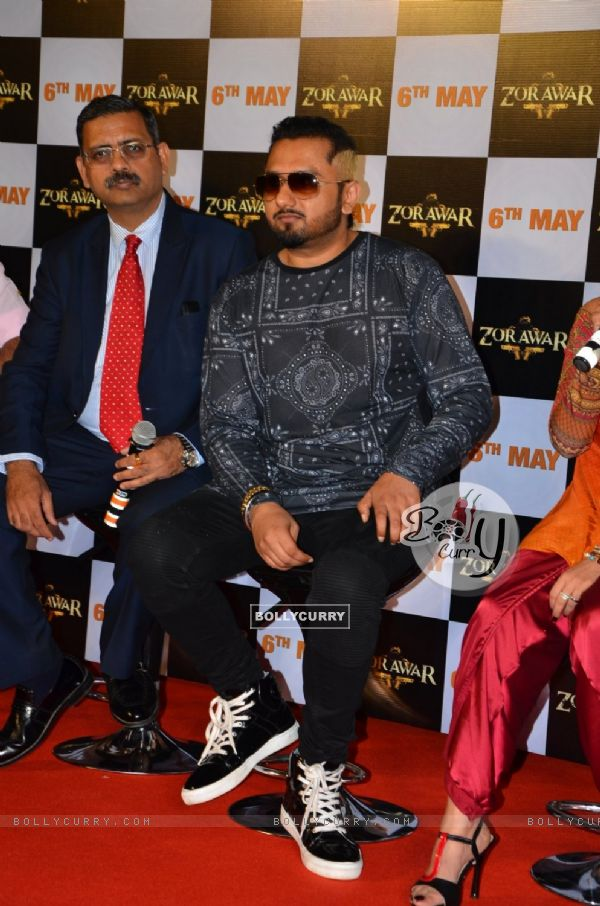 Honey Singh at the Launch Of Film Zorawar