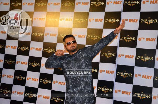 Honey Singh at the Launch Of Film Zorawar