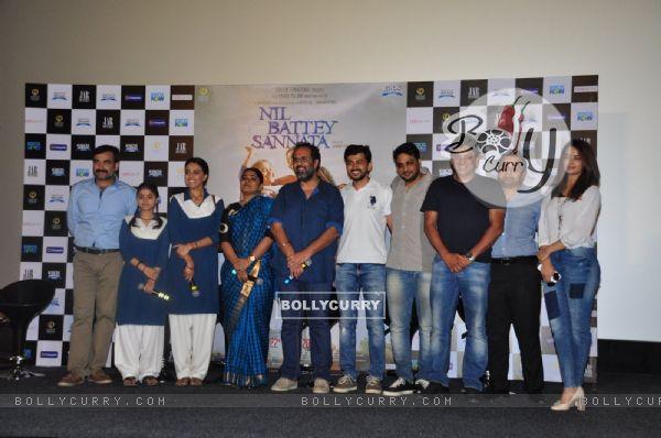 Press Meet of the film Nil Battey Sannata
