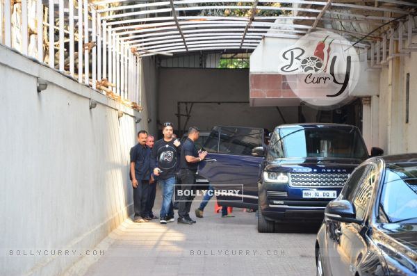 Karan Johar Snapped at his Office
