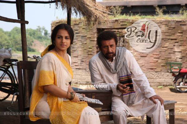 Naseruddin Shah and Vidya Balan in the movie Ishqiya