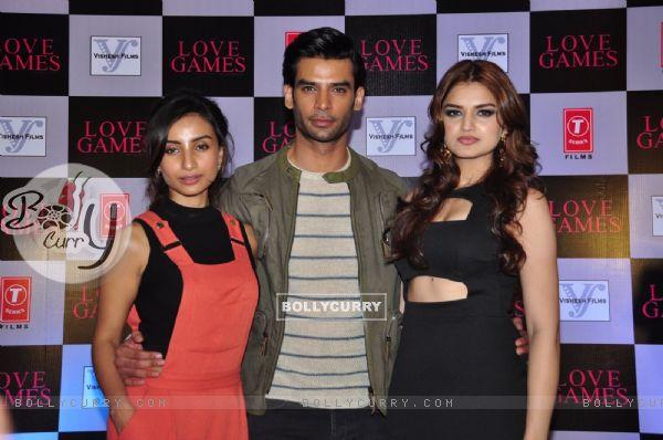 Patralekha, Gaurav Arora and Tara Alisha at Press Meet of 'Love games' (401526)