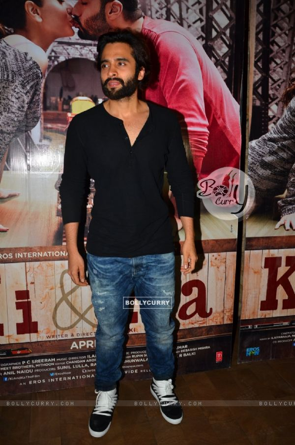 Jackky Bhagnani at Special Screening of 'Ki and Ka'
