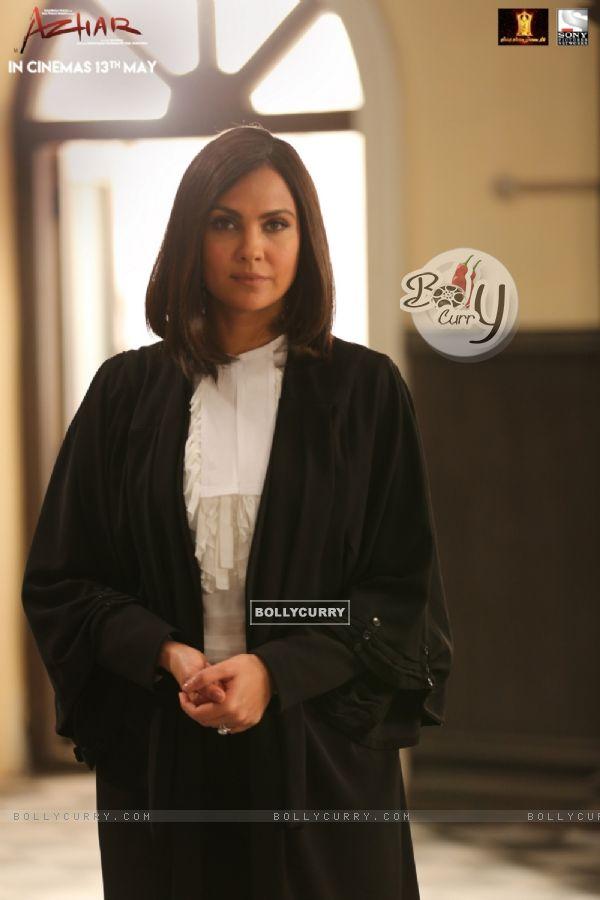 Lara Dutta Plays a lawyer in Azhar