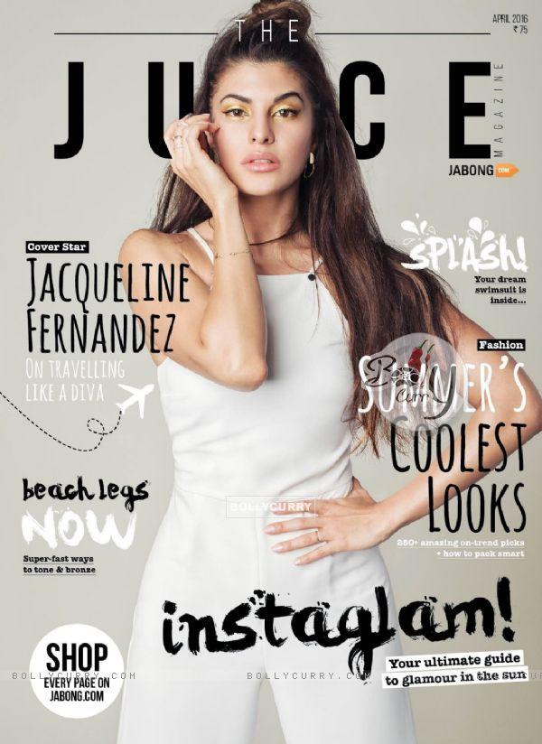 Jacqueline Fernandes on Juice Magazine