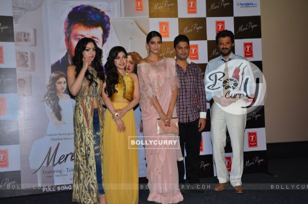 Celebs at the Launch of Mere Papa album