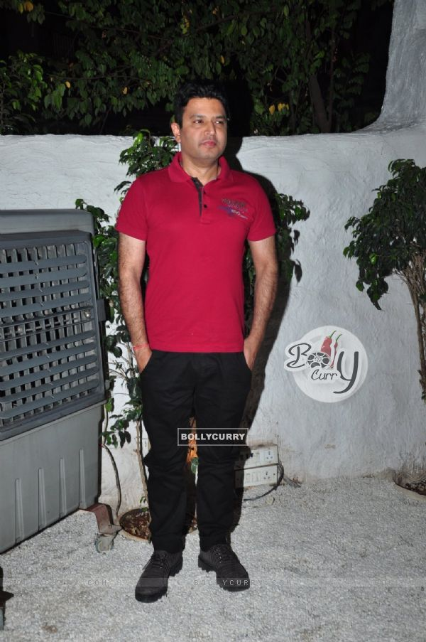 Filmmaker Bhushan Kumar at Success Bash of 'Ki and Ka'