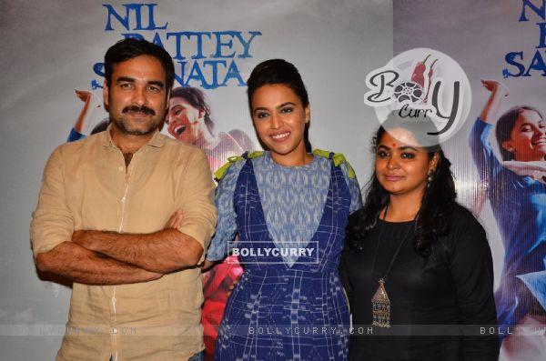Celebs at Promotions of 'Nil Battey Sannata'