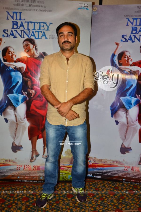 Pankaj Tripathi at the Promotions of 'Nil Battey Sannata'