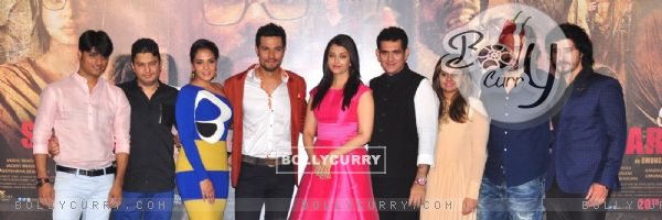 Cast of 'Sarabjit' at it's Trailer Launch