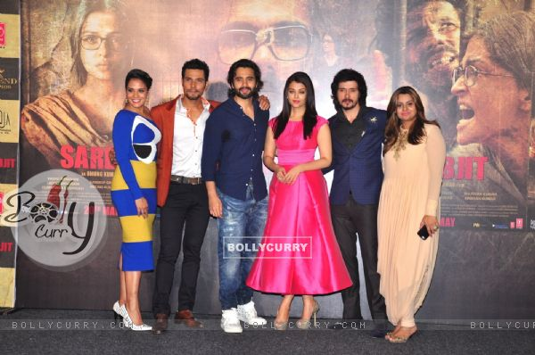 Cast of 'Sarabjit' at it's Trailer Launch (403340)