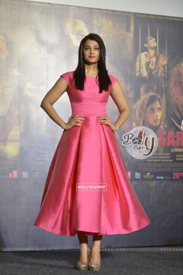 Aishwarya Rai Bachchan at Trailer Launch of 'Sarabjit' (403347)