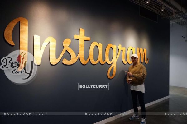 Jimmy Shergill Visits Instagram Headquarters