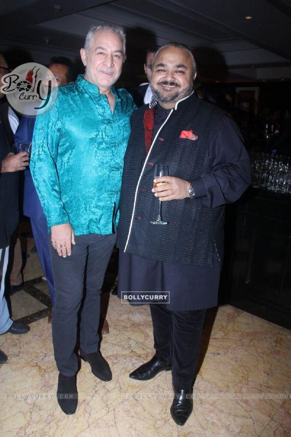 Dalip Tahil with JJ Valaya