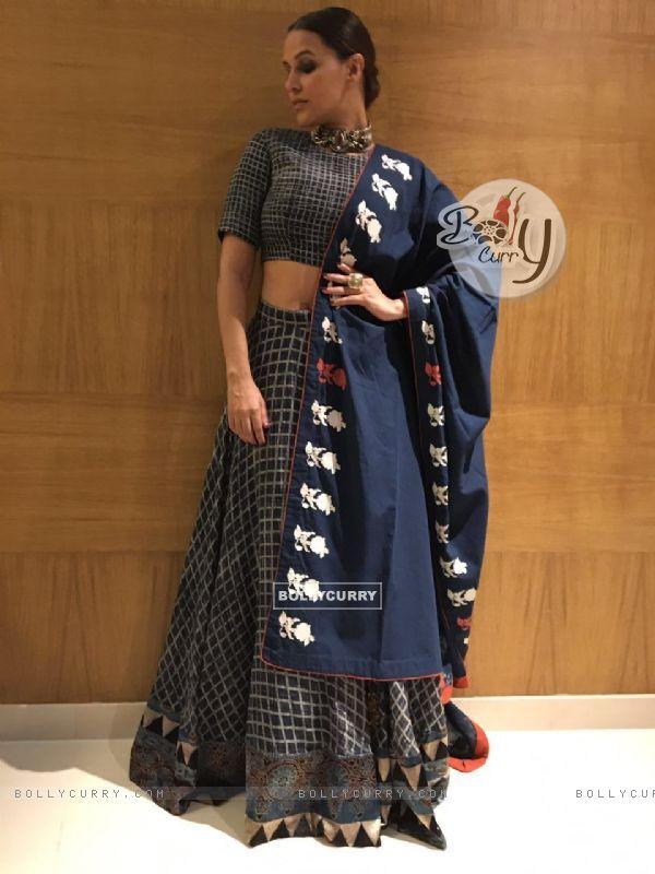 Neha Dhupia in Natasha J Label