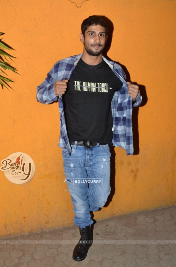 Prateik Babbar Snapped at Blue Frog