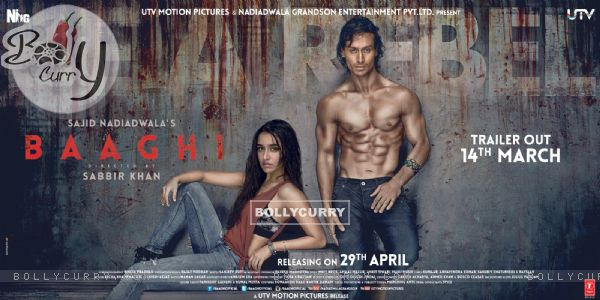 Poster of the film Baaghi (403682)