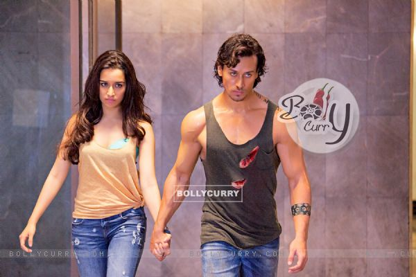 Stills from the fiilm Baaghi