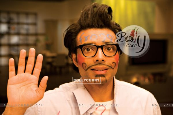 Uday Chopra looking funny