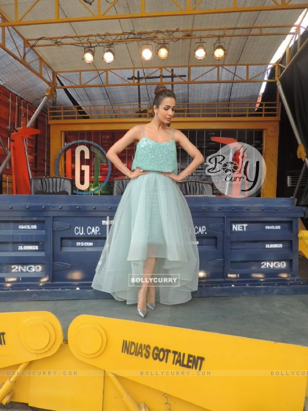 Malaika Arora Khan's photoshoot for India's Got Talent