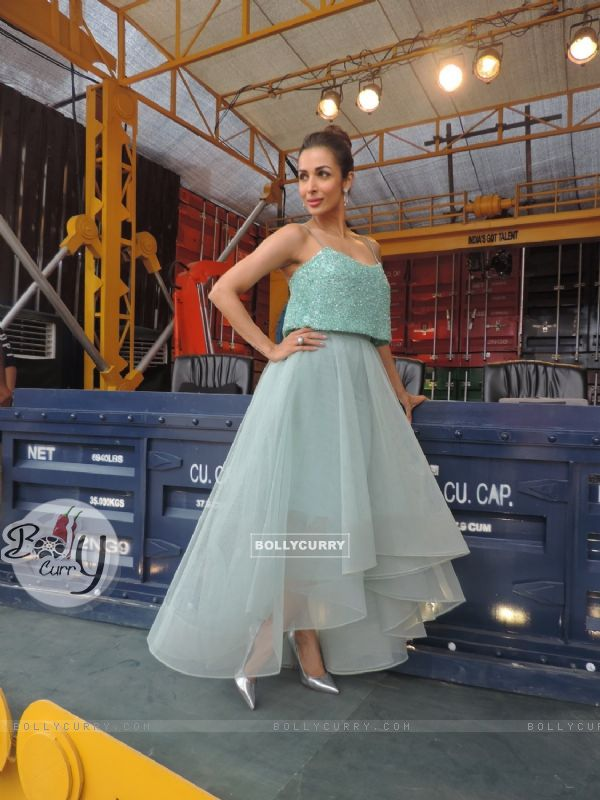 Malaika Arora Khan's photoshoot for India's Got Talent