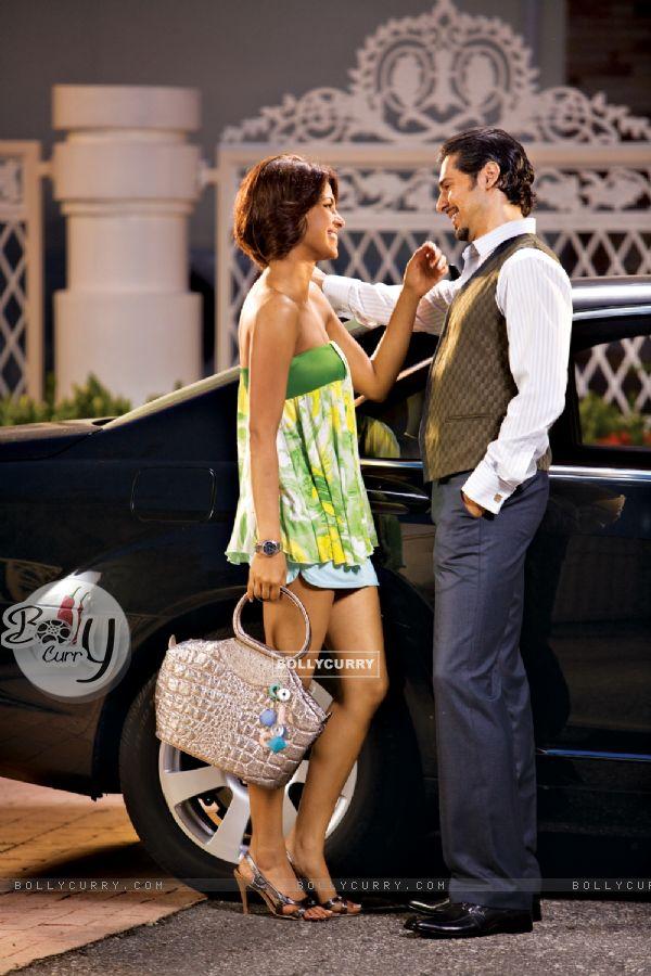 Priyanka Chopra with Dino Morea