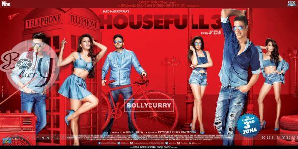 Poster of the film 'Housefull 3' (403918)