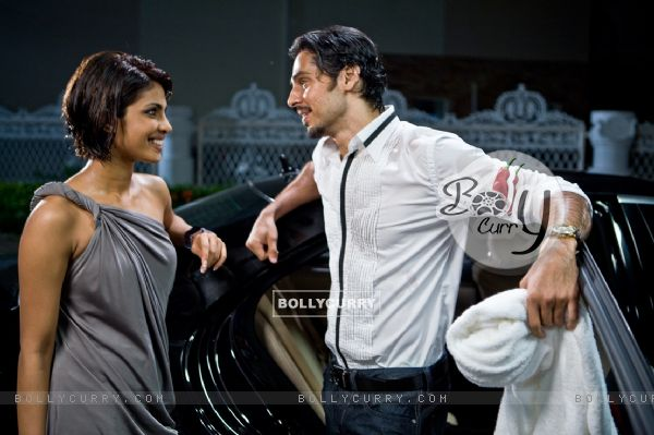 Lovable scene of Priyanka and Dino