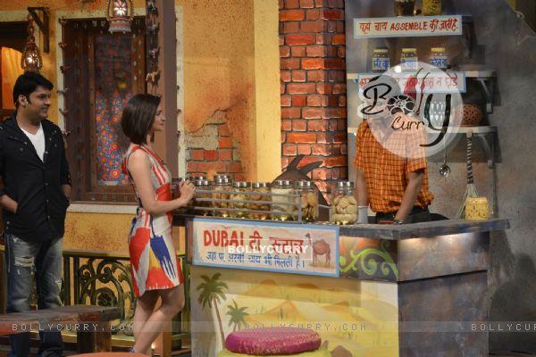 Prachi Desai at Promotions of 'Azhar' on 'The Kapil Sharma Show'