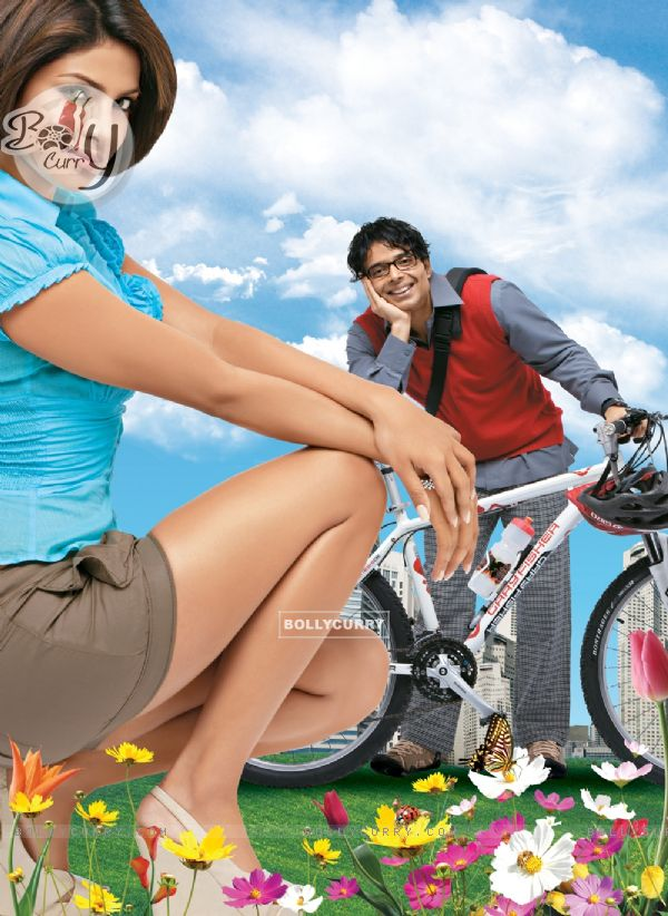 Uday and Priyanka Chopra in the movie Pyaar Impossible