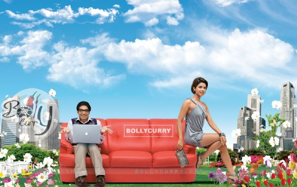 Priyanka and Uday in Pyaar Impossible movie