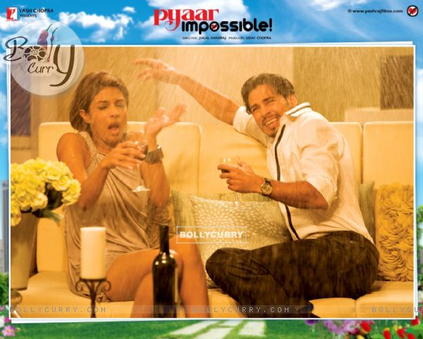 Pyaar Impossible movie wallpaper with Priyanka and Dino (40415)