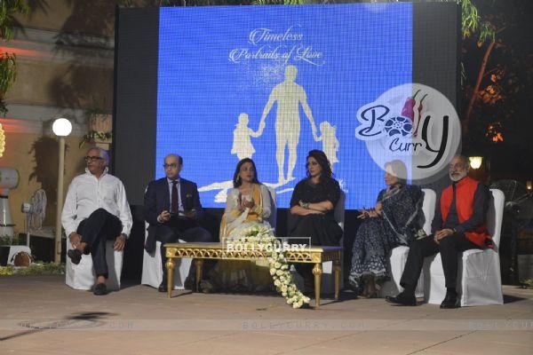 Bollywood Actress Tabu and Mandira Bedi at Khushi NGO Charity Event in Delhi