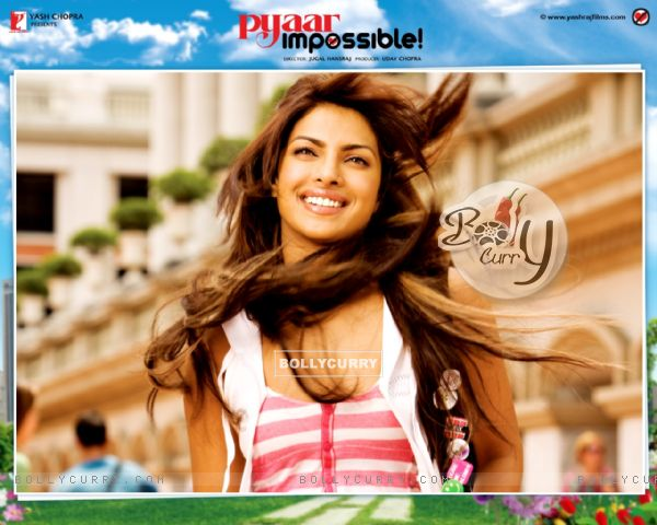 Wallpaper of Pyaar Impossible movie with Priyanka (40419)