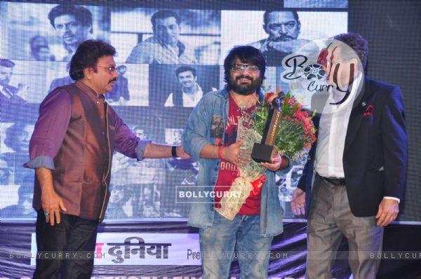 Pritam Chakraborty at Dadasaheb Phalke Award