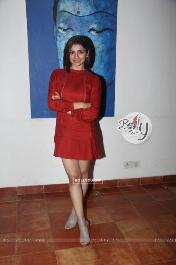 Prachi Desai at Promotions of 'Azhar' (404464)