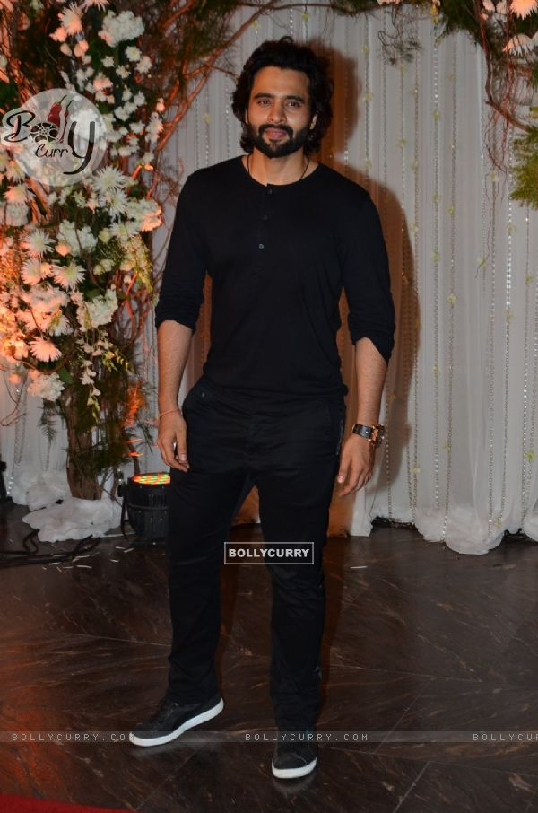 Jackky Bhagnani at Karan - Bipasha's Star Studded Wedding Reception