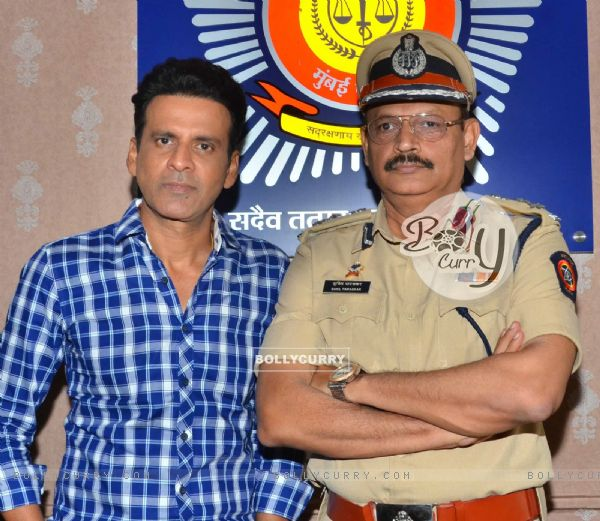 Manoj Bajpayee Promotes Traffic