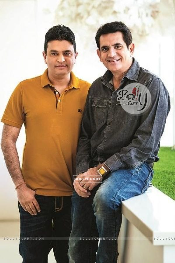 Omung Kumar with Bhushan Kumar