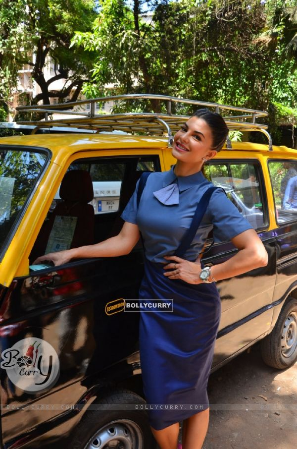 Jacqueline Fernandes Snapped outside the Le Eco Mobile Launch Event