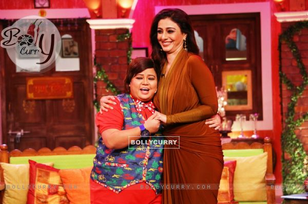 Bharti Singh and Tabu have a blast on the sets of 'Comedy Nights Live'
