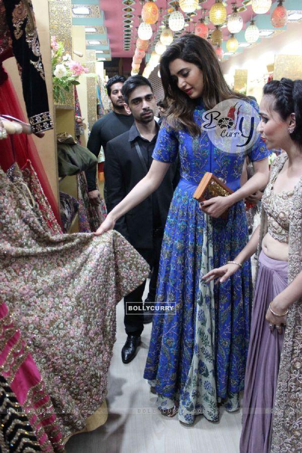 Karishma Tanna Launched 'Miraaz' Fashion Store